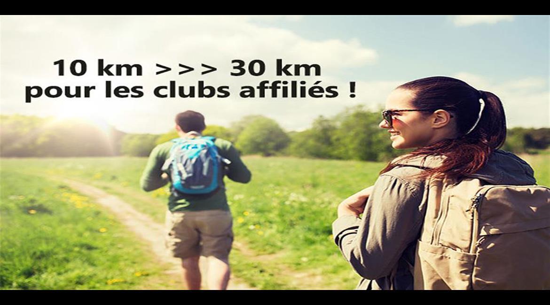 La randonnée encadrée bénéficie de la dérogation de déplacement à 30 km!