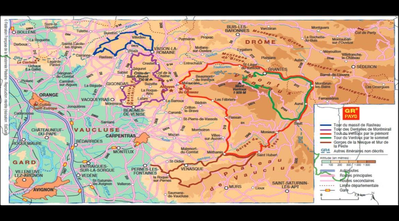 """Le GR® de Pays """"Tour du massif du Mont-Ventoux"""" retenu au concours """"Mon GR® Préféré"""" 2021 !"""