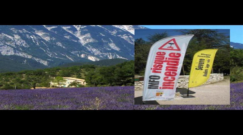 PROTECTION INCENDIE : Accès aux massifs forestiers en Provence-Alpes-Côte d'Azur en été
